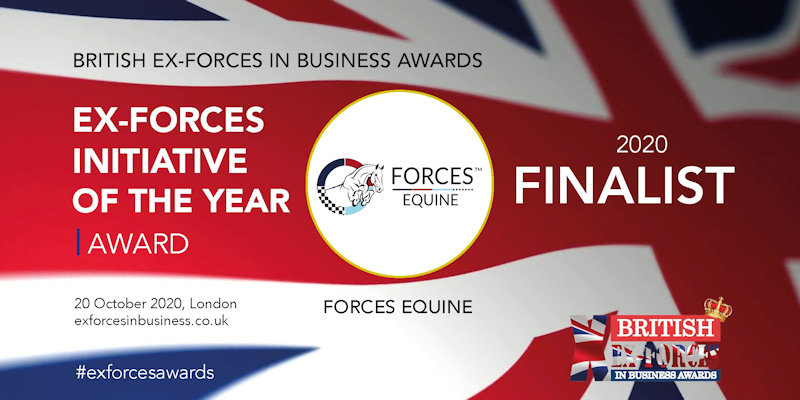 Ex Forces Initiative of the year finalist 2020
