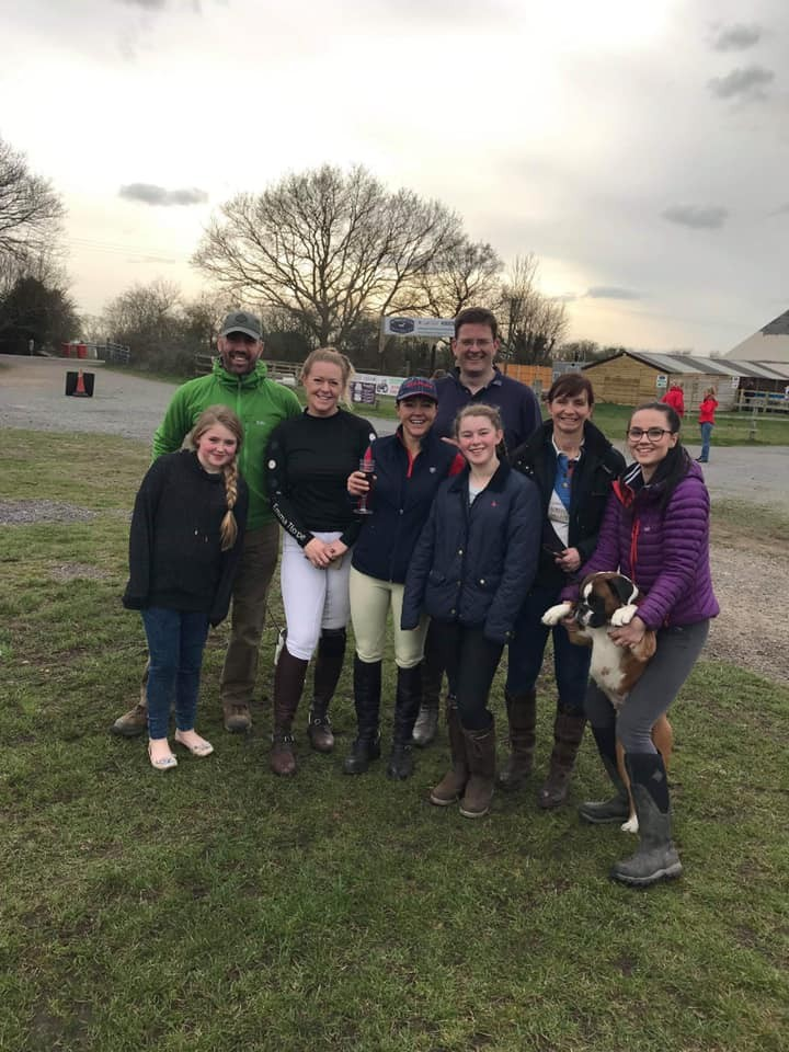 Forces Equine 100m team win the BRC FotH Challenge Qualifier